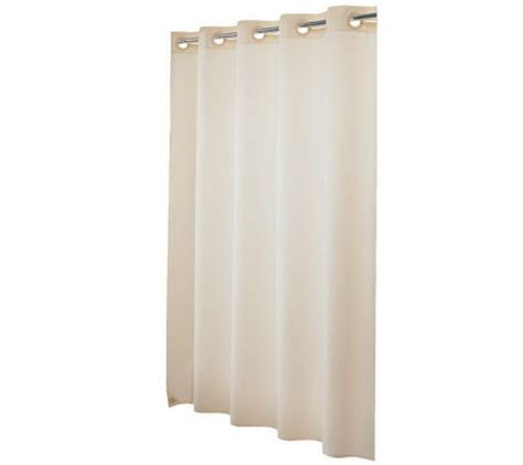nylon shower curtain hookless 210d nylon shower curtain page 1 qvc com