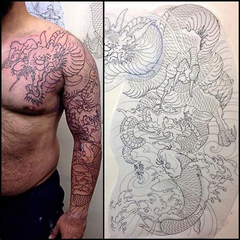 dragon tattoo vancouver 1268 best images about tattoos on pinterest full sleeve