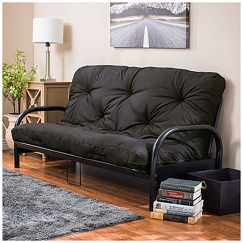 Big Lots Futon Mattress Black Futon Frame With Black Futon Mattress Set Big Lots