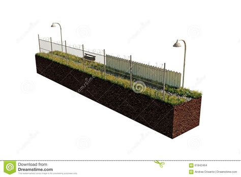 country section country road section stock illustration image 61842464