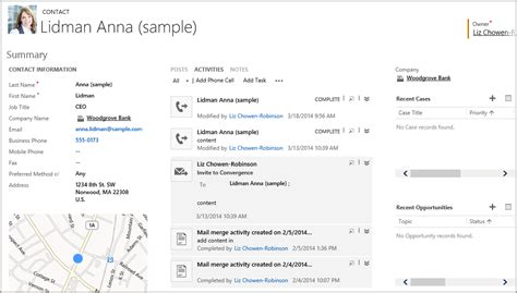 Email Records Understanding Accounts And Contacts In Dynamics Crm