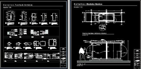 kiosk modules   shopping center dwg full project