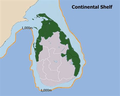 Continental Shelf Of India by Lankaweb What If Sirisena Wins We Will Stand To