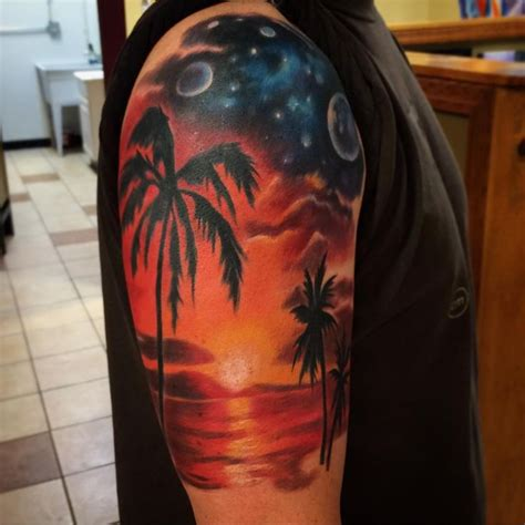 sunset tattoo designs 17 best ideas about sunset tattoos on island