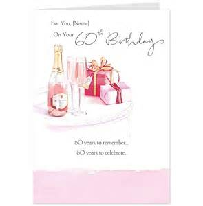 60th birthday cards for him uk