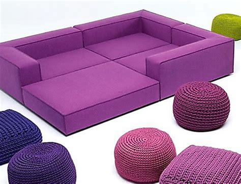 bright colorful modern furniture ideas by lenti