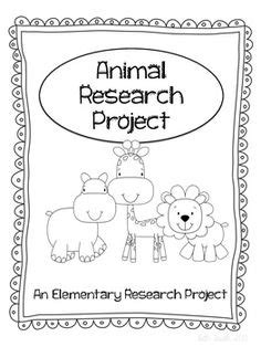 Animal Report On Pinterest Animal Habitats Graphic Organizers And 4th Grade Animal Research Project Template