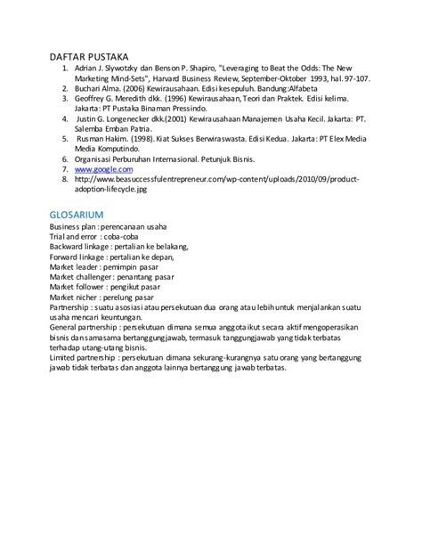 Design The Business Plan Edisi Kedua makalah konsep bisnis