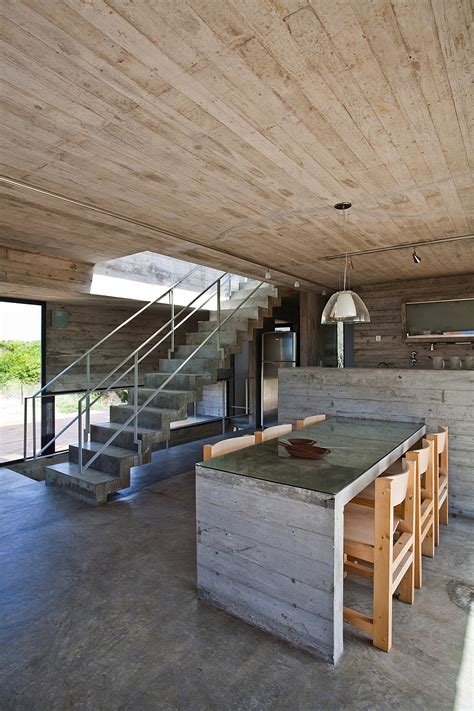 baring house modern house ushers in industrial style with raw concrete