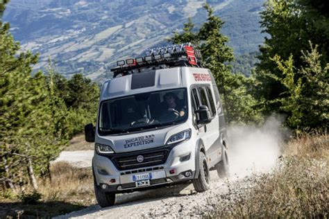 Fiat showcases Ducato 4×4 Expedition concept camper