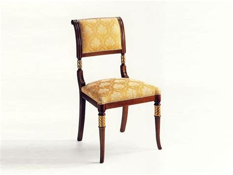sedie classiche di lusso sedia classica in legno imbottita per albergo idfdesign