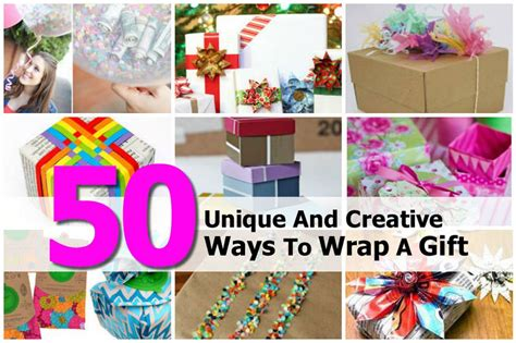 creative ways to wrap gifts 50 unique and creative ways to wrap a gift