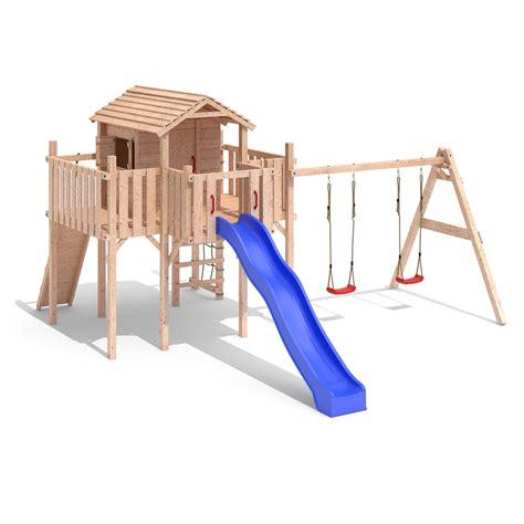 swing slide climbing frame terrizio maxi play tower climbing frame slide swings