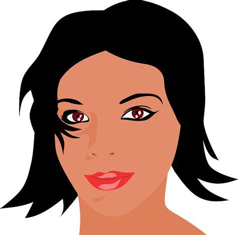 imagenes sad png vector gratis belleza morena cara ni 241 a mujer imagen