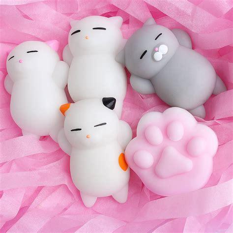 Soft Squishy Animals mochi animals stress toys 25 pcs mochi squishy soft