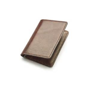 oak bark leather credit card holder store the merchant fox