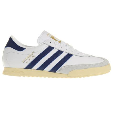 adidas beckenbauer uk size 11 eu 46 white trainers shoes new ebay