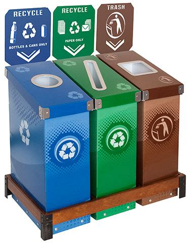 How To Order Kitchen Cabinets by Recycling Bins Recycle Stations Amp Containers In Many