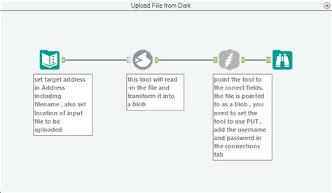 ftp workflow upload to sftp ftp more exles with alteryx 10 5