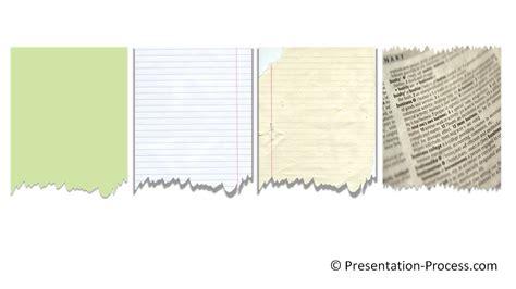 tutorial slide type effect powerpoint torn paper effect powerpoint effect tutorial