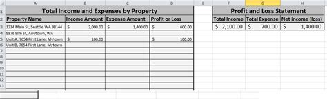 Free Expense Tracking Spreadsheet For Your Rentals We Ve Updated It Tellus Realty Rental Income And Expense Template