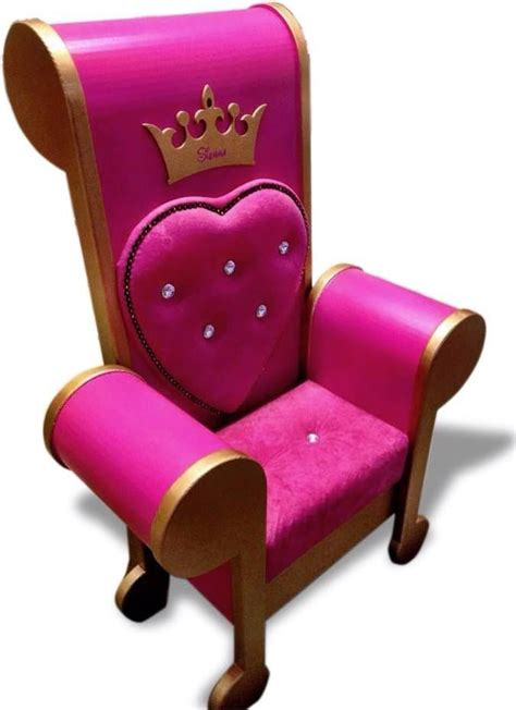 stunning  glorious princess throne chair adds