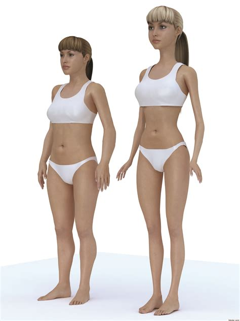 average size woman barbie body looks pretty scary next to a human woman