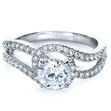 split shank engagement ring 1260
