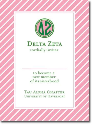 sorority bid card template 26 best cards name tags images on invitations