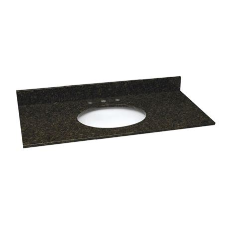 49 Inch Vanity Top by 49 Inch Ubatuba Granite Vanity Top With Pre Attached