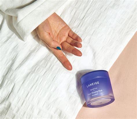Laneige Water Sleeping Mask Special Set Lavender skincare mask water sleeping mask lavender laneige sg