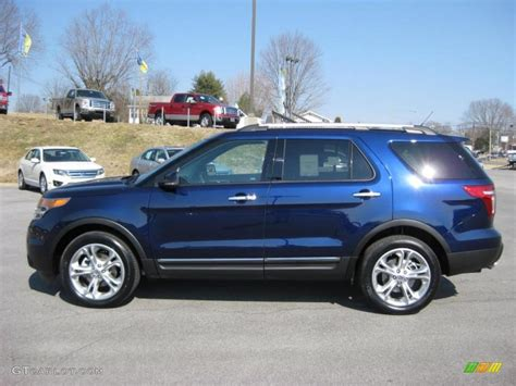 2011 Ford Explorer by 2011 Kona Blue Metallic Ford Explorer Limited 4wd