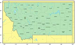 Maps Of Montana by Maps Of Montana