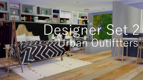 sims 4 set cc my sims 4 blog urban outfitters rugs paintings