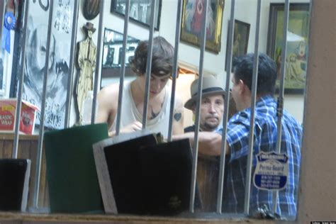 harry styles tattoo parlor harry styles new tattoo one direction singer spotted at