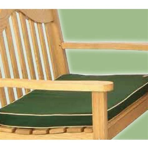 green bench cushion lifestyle 2 seater green bench pad cushion garden street