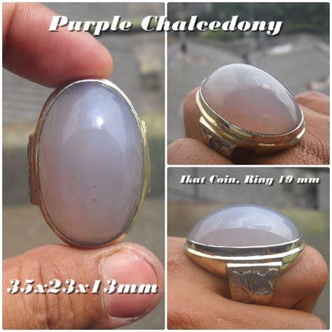 Batu Pandan Chalcedony Pdn 02 koleksi batu antik ak187 sold purple chalcedony big