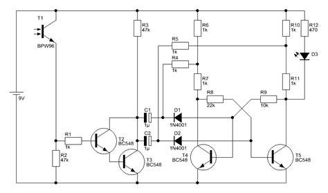 transistor bc548c datenblatt fernbedienbarer ein aus taster