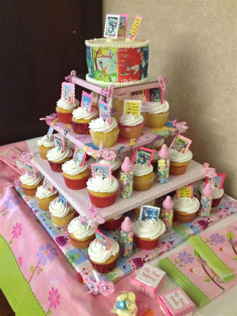 Tower For Baby Shower by Storybook Baby Shower Cupcake Tower Baby Showers