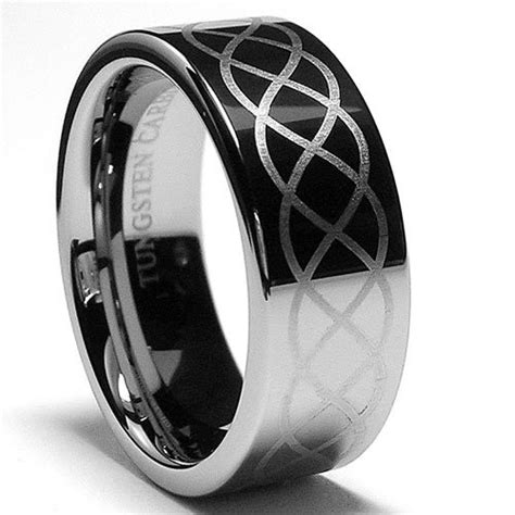 Tungsten Infinity Odyssey Infinity Tungsten Ring 8mm