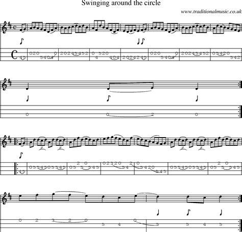 swing around the circle irish music tune swinging around the circle with mandolin