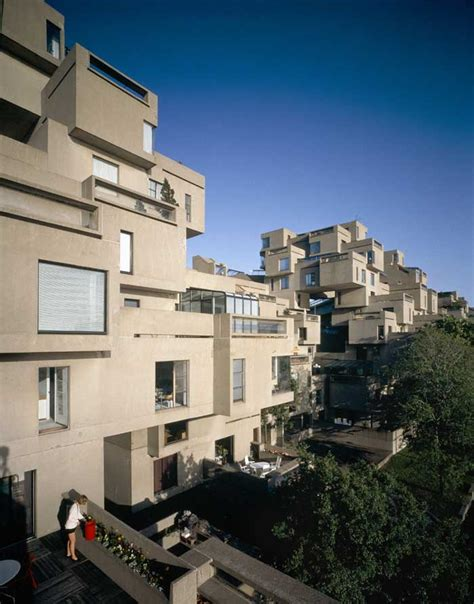 Kitchen Design Montreal Habitat 67 Moshe Safdie Montreal Building Architect E