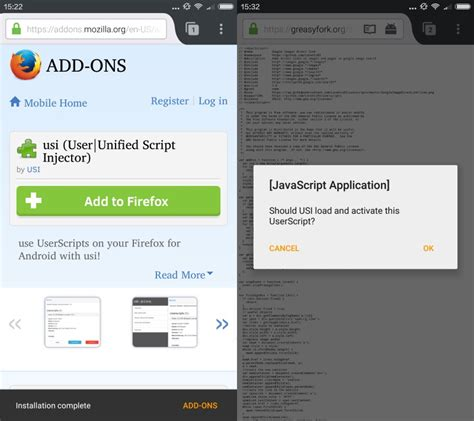 firefox for android install userscripts on firefox for android ghacks tech news