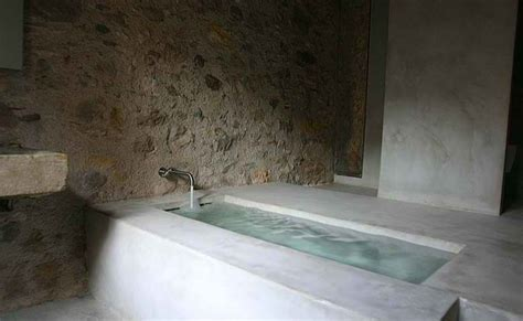 concrete bathtub 20 awesome concrete bathroom designs decoholic