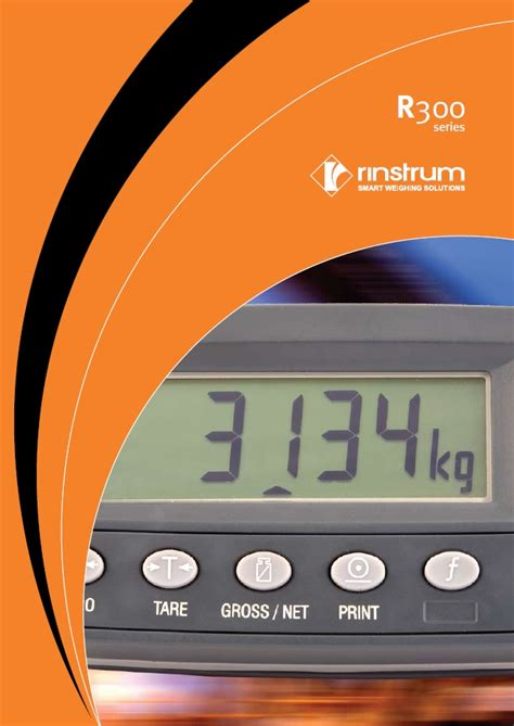 Rinstrum Indicator Basic R 320 K344 rinstrum r300 series indicators