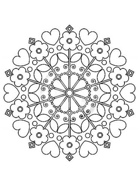 pintar im genes todo para colorear pintando y coloreando mandalas con flores