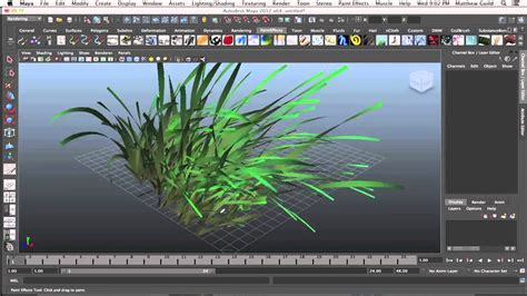 qt tutorial paint blending brushes paint effects autodesk maya tutorial