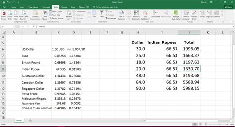 currency converter inr to usd usd inr exchange rate history in excel