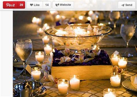 candele centrotavola matrimonio centrotavola matrimonio con candele 1 42396 sposalicious
