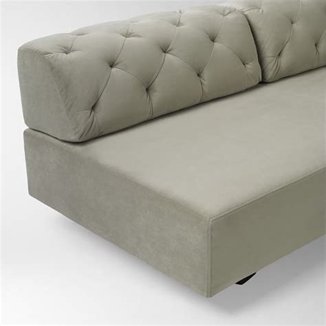 Tillary Tufted Sofa Tillary 174 2 Sofa Sectional Tufted West Elm